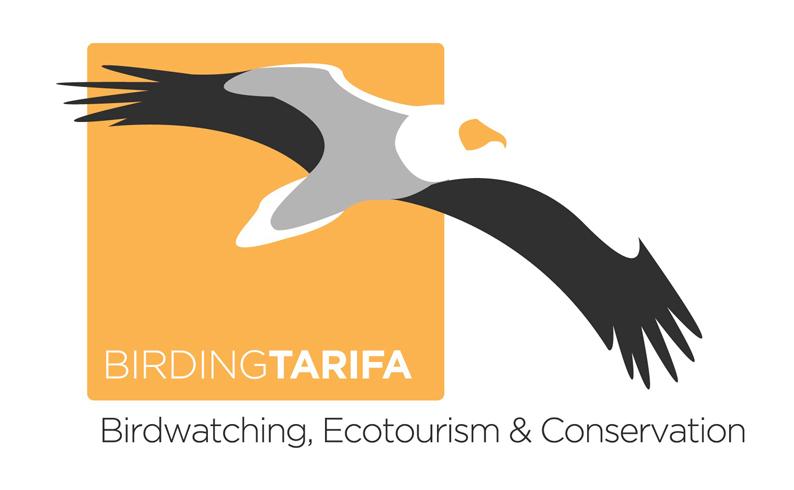 logotipo birding Tarifa