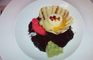 plato degustación escuela hostelería san roque