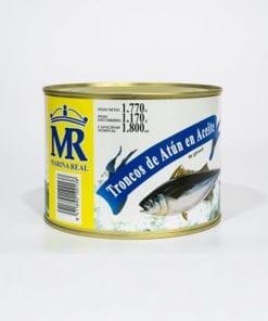 Tronco de Atún. Aceite de Girasol. Marina Real. 1.770 grs.