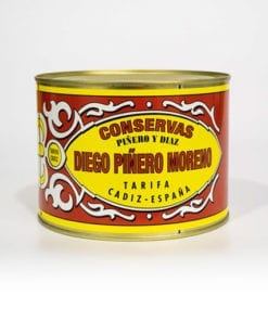 Filetes de Caballa de Andalucía en Aceite de Girasol Piñero y Diaz 1800