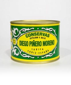 Filetes de Melva de Andalucía Canutera en Aceite de Girasol Piñero y Diaz 1800