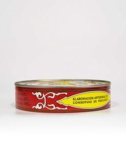Filetes de caballa aceite girasol piñero y diaz 550 grs
