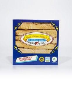 Filetes de Melva de Andalucía de Almadraba. Aceite de Girasol piñero y diaz 525 grs.