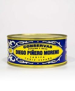 Filetes Melva Andalucía de Almadraba en Aceite de Girasol Piñero y Díaz 1000