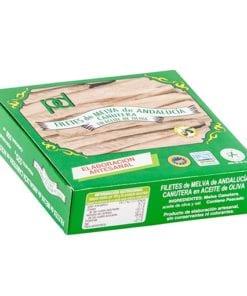 Filetes de Melva Canutera de Andalucía de Almadraba en Aceite de Girasol. Piñero y Díaz