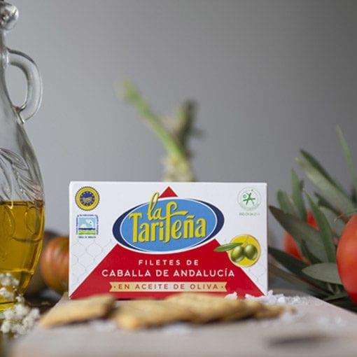 caballa La Tarifeña 125 aceite de oliva