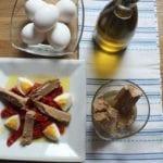 ensalada pimientos con melva