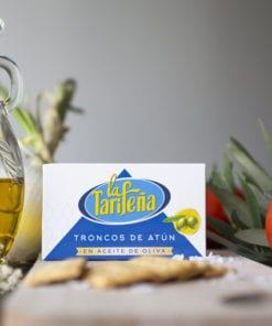 troncos de atún La Tarifeña aceite de oliva