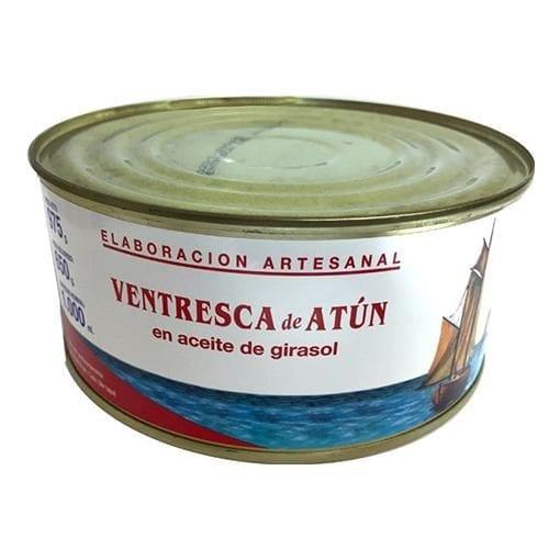 Ventresca de atún en aceite de girasol La Tarifeña