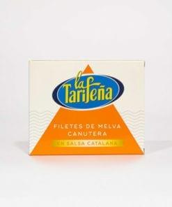 Filetes de melva canutera en salsa catalana La Tarifeña