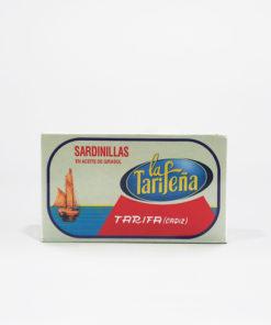 sardinas en aceite de girasol La Tarifeña
