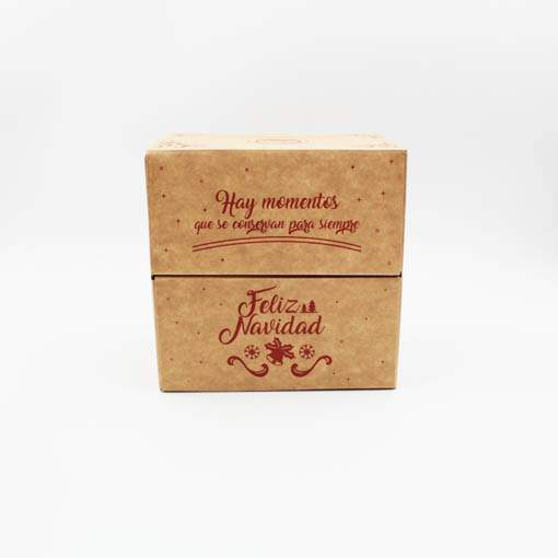 caja Navidad Kraft