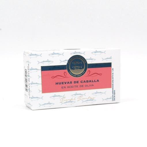 Huevas de Caballa. Premium Conservera de Tarifa 190 grs.