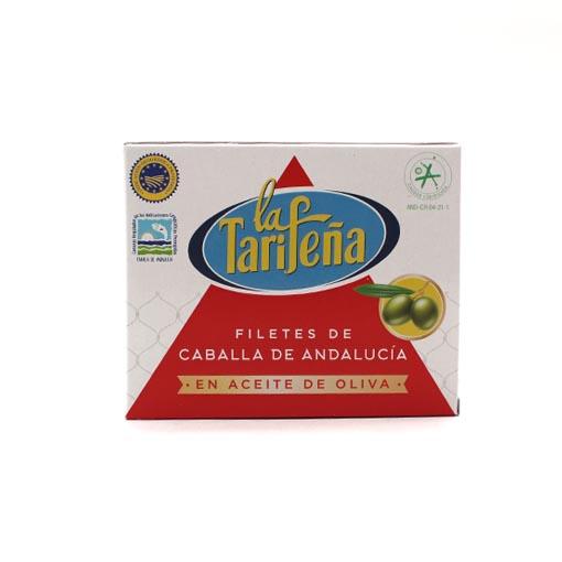 filetes de caballa aceite de oliva La Tarifeña 237