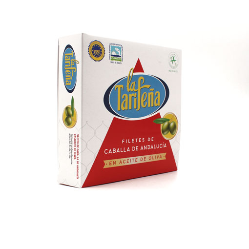 filetes de caballa aceite de oliva La Tarifeña 525