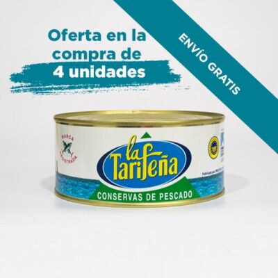 30703X4_filetes del melva de Andalucía, aceite de girasol, La Tarifeña, RO 1000